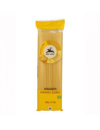Спагетти (твердая пшеница), Alce Nero, 500 г