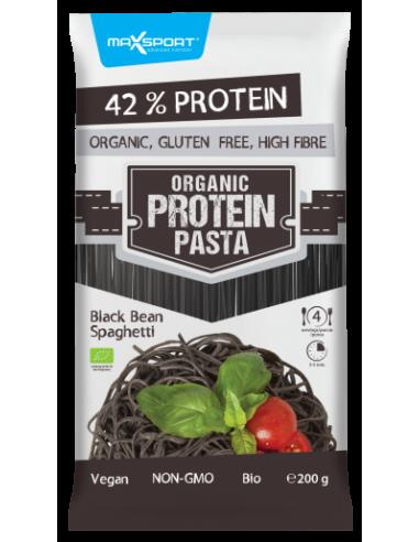 Спагетти из черных бобов, Max Sport, 200г