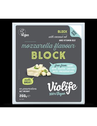 Сир твердий мозарела блок, Violife, 200г