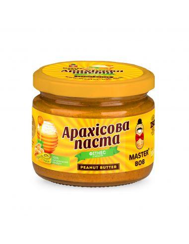 Паста арахисовая Фитнес, Мастер Боб,300г