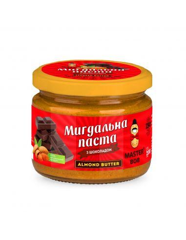 Паста миндальная с шоколадом, Мастер Боб, 200г