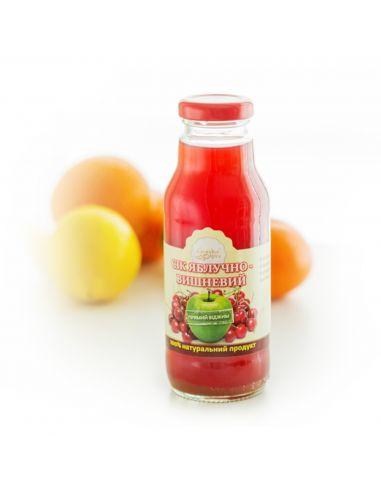 Сок яблочно-вишневый, Солодка мрія, 0,33л