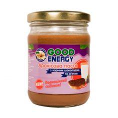 Паста арахисовая с черным шоколадом и мятой, GoodEnergy, 250г