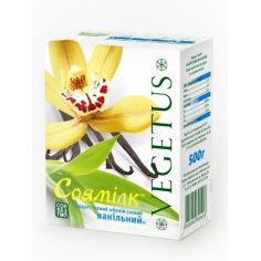 Молоко соєве ванільне, Vegetus, 500мл