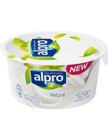 Йогурт соевый натуральный, Alpro, 150г.