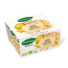 Йогурт соевый персик-манго, Provamel, 125г.