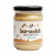 Паста арахісова з кокосом, БУРУНДУК, 250г