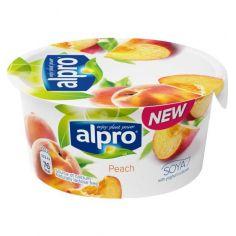 Йогурт соєвий з персиком, Alpro, 150г.