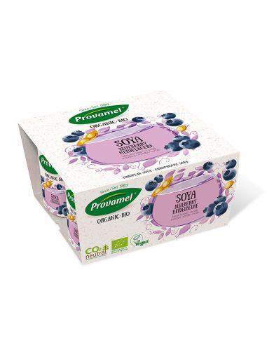 Йогурт соевый с черникой Provamel. 125г.