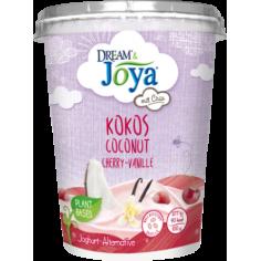 Йогурт кокосовий чіа-вишня-ваніль, Joya, 400г