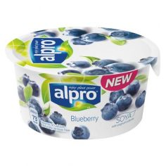 Йогурт соевый с черникой, Alpro, 150г.