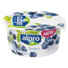 Йогурт соєвий з чорницею, Alpro, 150г.