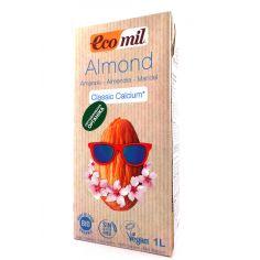 Молоко з мигдалю з кальцієм, Ecomil, 1000мл