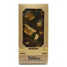 Шоколад молочний з динею, Vegan Sweets, 85г