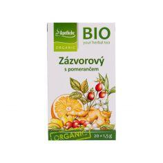 Чай імбирний з апельсином, Apotheke, 20 * 1