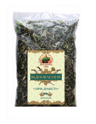 Іван чай відновлення (при диабеті) Козацька сила, 100г