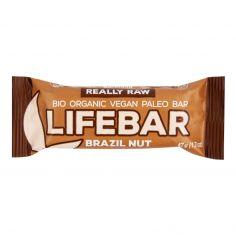 Батончик з бразильським горіхом, Lifefood, 47г