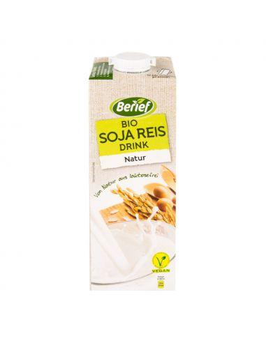 Молоко соєво-рисове Berief, 1000мл
