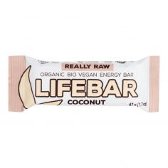Батончик з кокосом, Lifefood, 47г