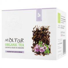 Чай чорний кипрійний з цвітом чебрецю, Мольфар, 50г