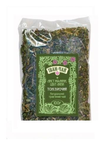 """Іван чай з м'ятою """"Тонізуючий"""", Herbal-tea, 100г"""