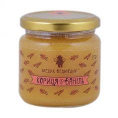 Медова суміш кориця-ваніль, Медик Ведмедик, 250г