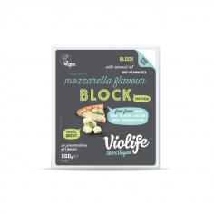 Сир твердий моцарелла для піцци блок, Violife, 200г