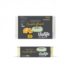 Сир твердий чеддер блок, ORGANIC, Violife, 200г
