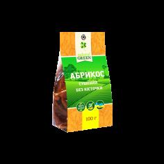 Абрикос сушений без кісточки, Natural Green, 100г