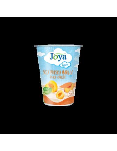 Йогурт соєвий з абрикосом та персиком, Joya, 200г