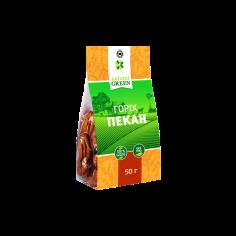 Горіх пекан, Natural Green, 50г