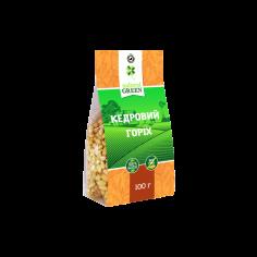 Кедровий горіх, Natural Green, 100г