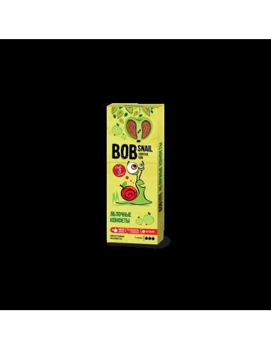 Натуральні яблучні цукерки bob snail (Равлик Боб), 30г