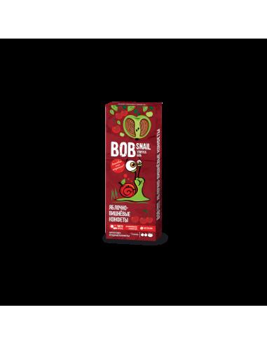 Натуральні яблучно-вишневі цукерки bob snail (Равлик Боб), 30г