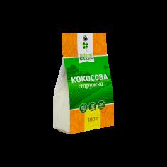 Стружка кокосова, Natural Green, 100г