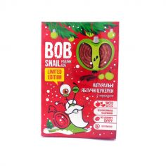 Натуральні яблуко-кориця цукерки bob snail (Равлик Боб), 60г