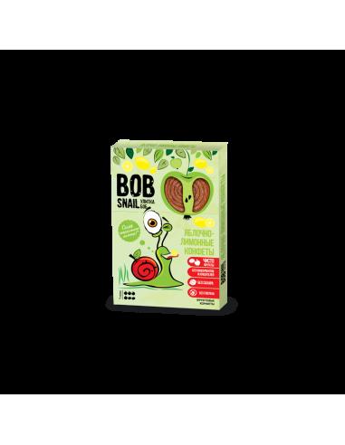 Натуральні яблучно-лимонні цукерки bob snail (Равлик Боб), 60г