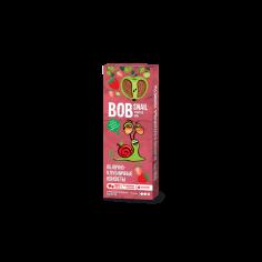 Натуральні яблучно-полуничні цукерки bob snail (Равлик Боб), 30г