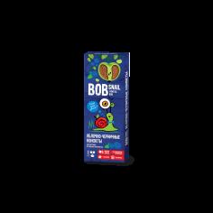 Натуральні яблучно-чорничні цукерки bob snail (Равлик Боб), 30г