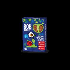 Натуральні яблучно-чорничні цукерки bob snail (Равлик Боб), 60г