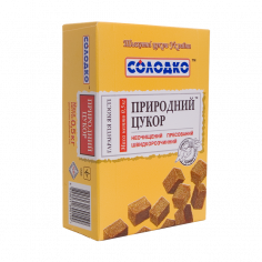 Цукор буряковий нерафінований пресований, Солодко, 500г