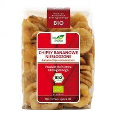 Чіпси бананові без цукру, Bio Planet, 150г