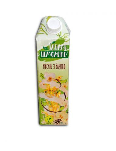 Молоко вівсяне ванільне, 1,5%, Ідеаль Немолоко, 1000мл