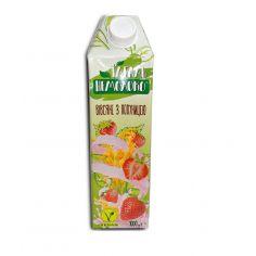 Молоко вівсяне полуничне, 1,5%, Ідеаль Немолоко, 1000мл