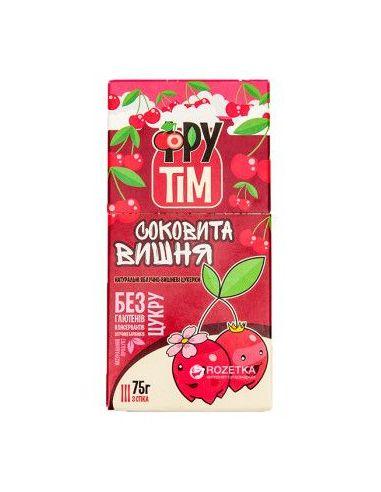 """Конфеты натуральные """"Фрутим яблочно-вишневый"""", 75г."""