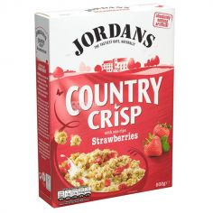 """Кранчі з Полуницею """"Country Crisp"""", Jordans, 500г"""