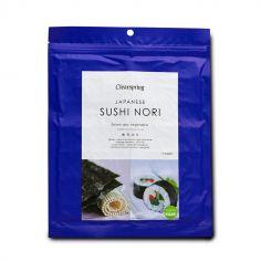 Водорості морські Норі смажені для суші (7 листів), Clearspring, 17 г