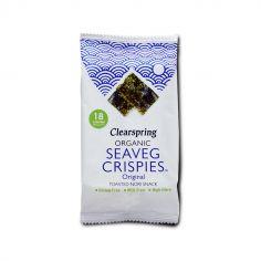 Водорості морські хрусткі органічні, Clearspring, 5 г