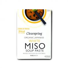 Паста для приготування білого Місо супу з МВ, Clearspring, 4*15г