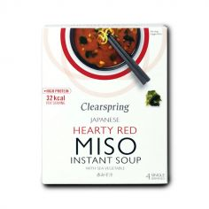 Суміш для приготування червоного Місо супу, Clearspring, 4*10 г